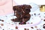 Amerikanische Brownies (saftig & schokoladig) als Geschenk