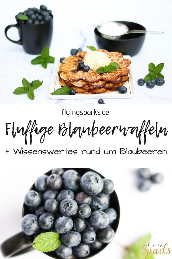 Fluffige Blaubeerwaffeln, Waffles, Heidelbeeren, Blaubeeren, blueberries, delicious, breakfast, dessert, baking, backen, Waffeln, Pinterest, sweet, Heidelbeerwaffeln, quick, easy, informative