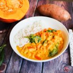 Kürbis-Süßkartoffel-Curry
