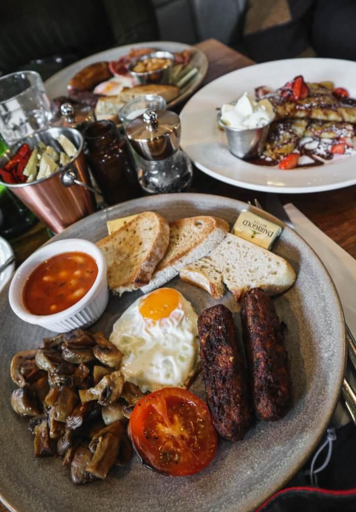 Frühstück, Brunch in Dublin, Food Guide, Wuff