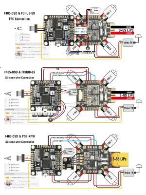 Matek F405OSD F4 Betaflight OSD Flight Controller | Flying Tech