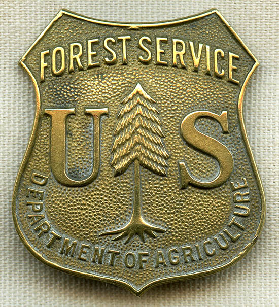 Find many great new & 1940 S 50 S Us Forest Service Ranger Badge Department Of Agriculture Flying Tiger Antiques Online Store