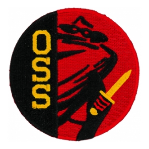 Office of the Strategic Services OSS WWII Patch