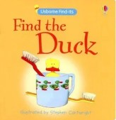 Find the Duck - great book for babies and toddler when travelling.