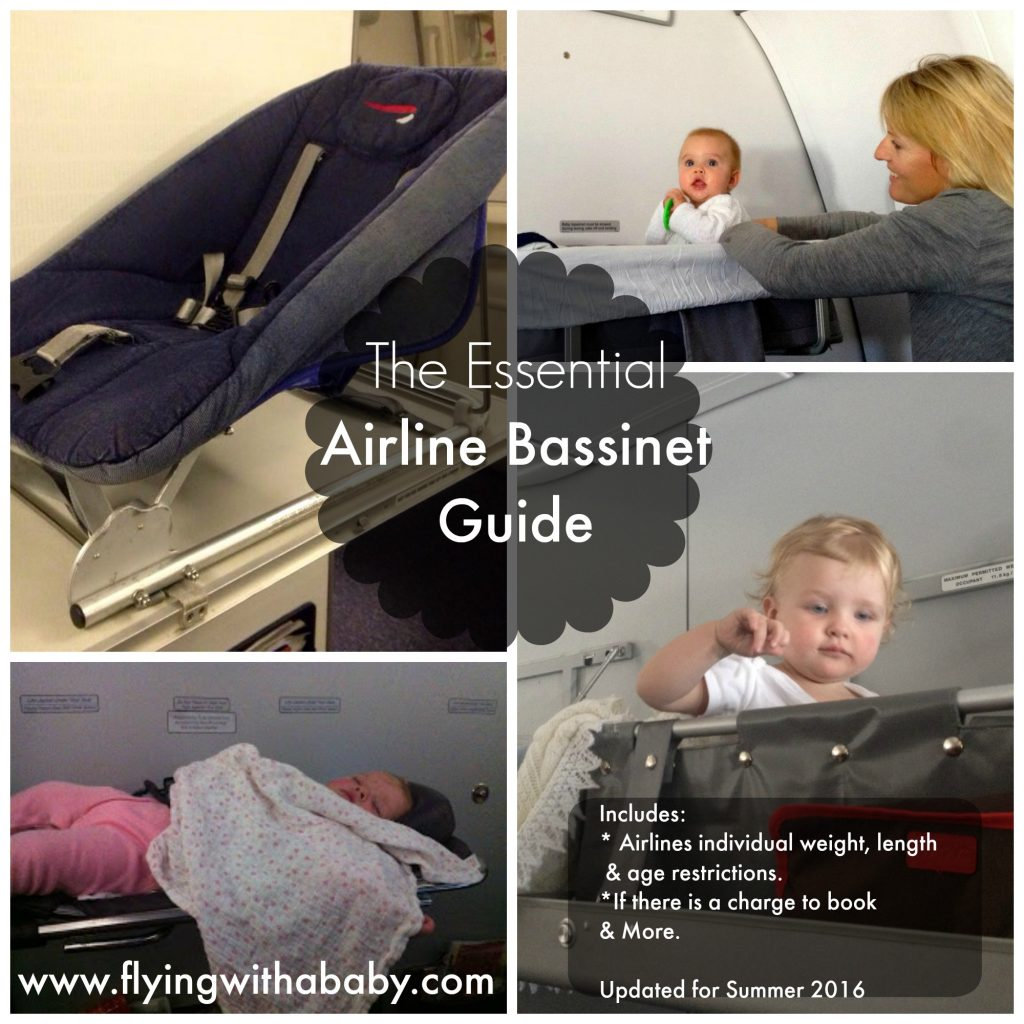 Baby Bassinet Seats A Guide To Airline Baby Bassinet Seat