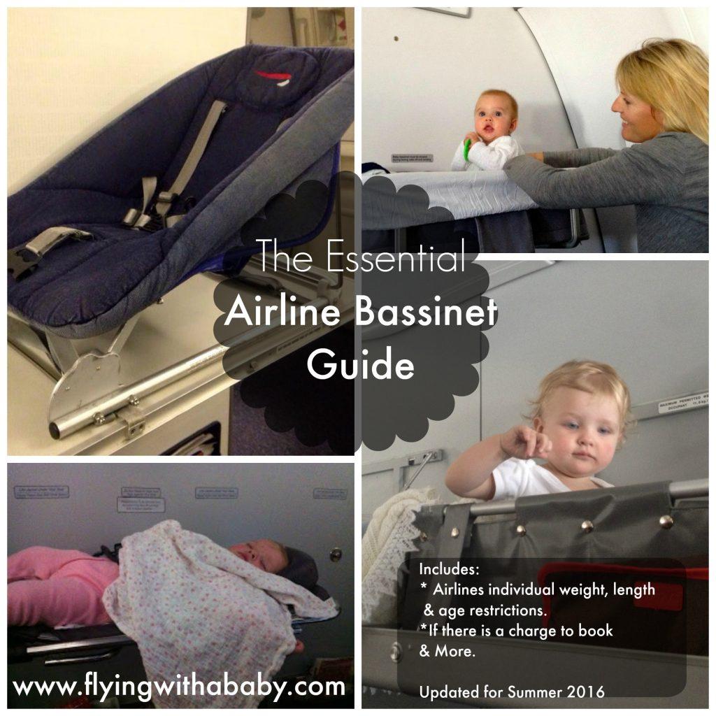 Essential Airline Bassinet Seat Information/Comparison Chart