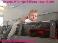 Airline bassinet seat, Qantas bassinet sky cot