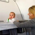 Luxury family adventure Lufthansa bassinet