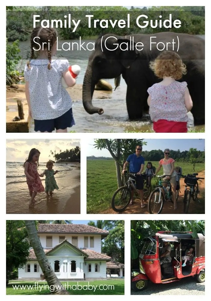 Family Trip: Sri Lanka (Galle Fort) A family travel guide to Sri Lanka with kids.