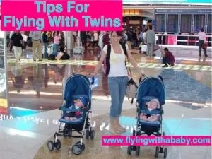 Tips for flying with twins- extra information to prepare you for booking the flight, choosing your airline and knowing what to expect. Flying with twins needs a little more preparation as airlines policies on use of car seats and bassinets vary, so a bit of research before you travel can really help.