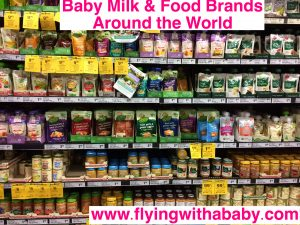 Baby milk and food brand found around the world. A guide to see if your favourite product is available in the country you travel to.