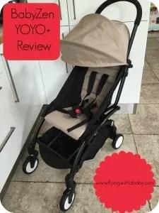 BabyZen yoyo plus review, travel, stroller, pushchair