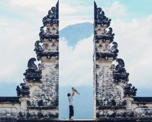 Indonesia With Kids, Indonesia With Kids : Bali And Gili, Pura lempuyang
