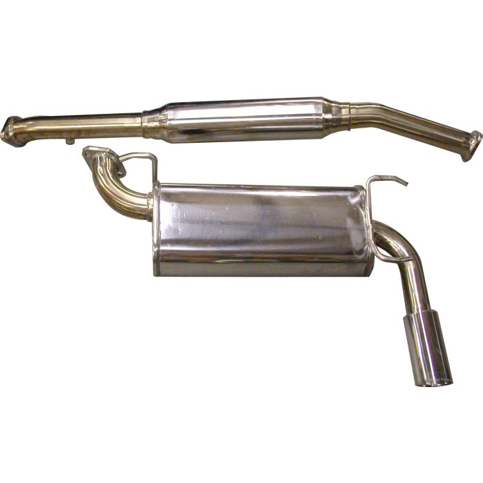 na flyin miata naturally aspirated stainless steel exhaust