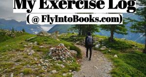 My Exercise Log (FlyIntoBooks.com)
