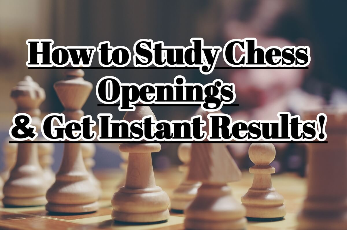 How You Can Study Chess Openings - Get Instant Results