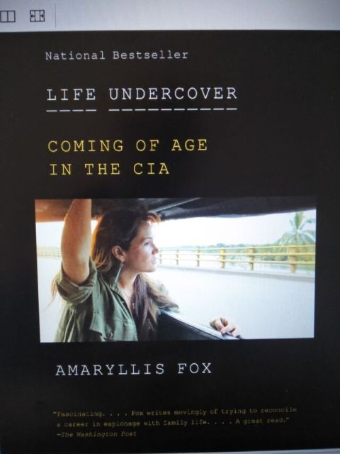Amaryllis Fox - Life Undercover book cover