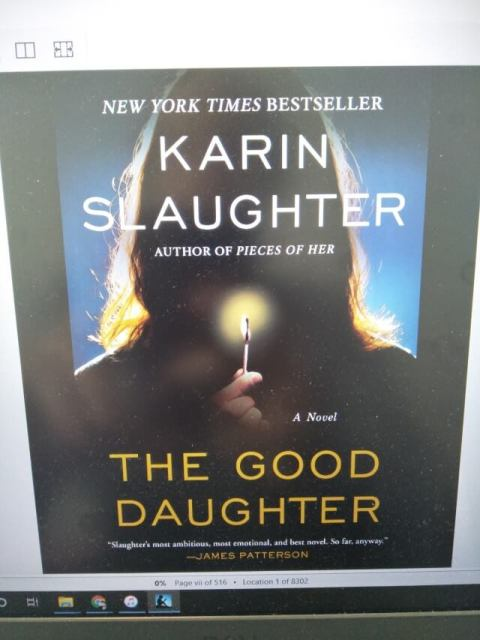 Karin Slaughter's The Good Daughter main cover