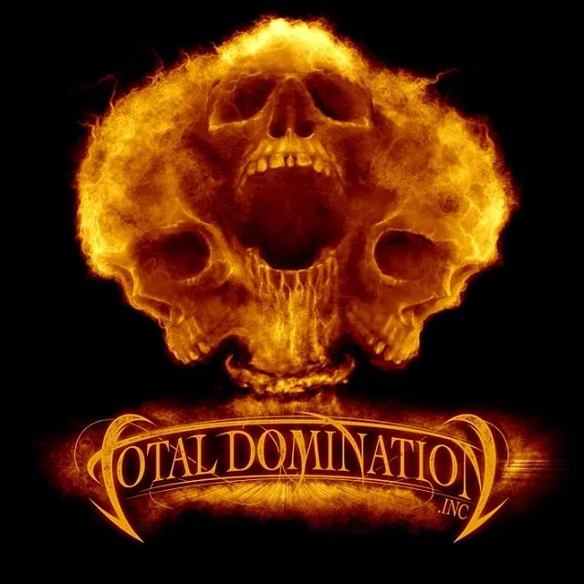 I designed this t-shirt of a mushroom cloud skulls for an MMA Apparel named Total Domination.