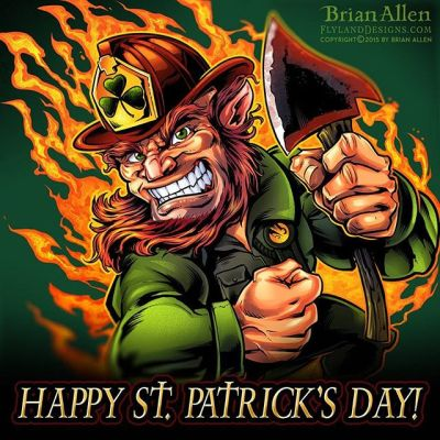 Happy St. Patrick's Day from your friends at FlyLand Designs!