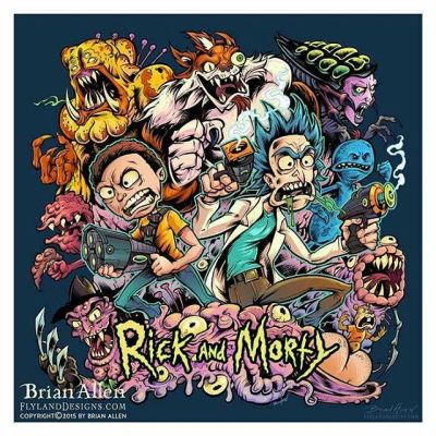 Thanks for all the positive comments about my Rick and Morty design.  The shirt will be printed as one of three official Rick and Morty shirts soon.  As part of the prize pack, I get a sweet comic signed by the creators of the show, which I'm pretty psyched about.  Thanks to all who have ordered prints as well!