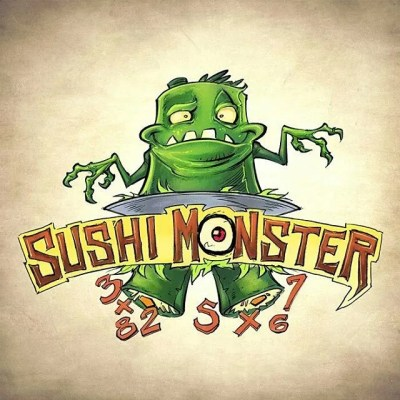And finally, the logo design concept I came up with for the revamp of the Sushi Monster math app by Scholastic.#art #illustration #characterdesign #app #game #monster #creature #freelance #FlylandDesigns New Artwork From Instagram