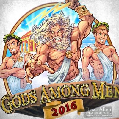 I was hired to design this logo of Zeus among two ordinary mortals in togas for apparel and a vehicle wrap for the russefeiring tradition. If you haven't heard of it, basically russefeiring involves an entire class of Norwegian students renting a bus (a Russebuss), painting every inch of it with really cool street art, and then partying in it night and day for an entire month during graduation. The different classes wear their designs ever where they go as they clash with rival classes. I've done a bunch of these now, and really enjoy it.⠀#art #illustration #russ #logo #freelance #FlylandDesigns New Artwork From Instagram