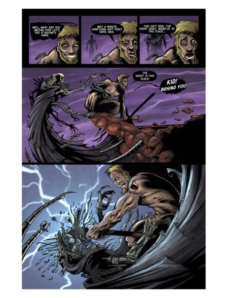 Dark Comic book illustratios by Brian Allen