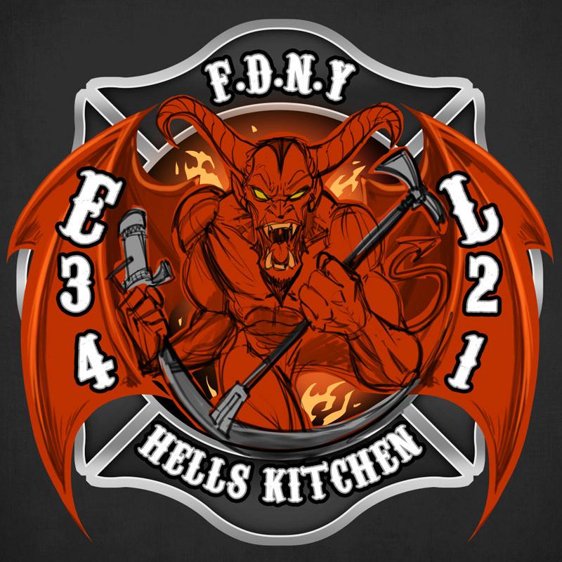 devil fire department logo flyland designs freelance illustration rh flylanddesigns com fire department logos and designs fire department logos and symbols