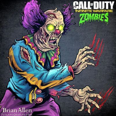 One of my favorite projects ever for #Activision, for a series I've been a huge fan of.  The clients wanted their different #CallofDuty  iconic #zombie characters in their new 80s themed zombie shooter illustrated using my style, which was hugely flattering.  Each illustration was used on Activision's social media during the countdown to the release of the game.  The illustrations were drawn in a way to encourage fans of the game to insert their photos behind the zombies so it appeared like they were being attacked. Illustrated by Brian Allen, http://flylanddesigns.com/#mangastudio #photoshop #illustration #tshirt #art #instaart #instaartist #picoftheday #igdaily #followme