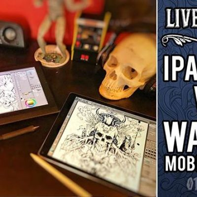 Hey folks, I'll be broadcasting live today comparing the iPad Pro to the Wacom Mobile Studio Pro around 3pm EST on YouTube and Facebook - please join and ask questions!
