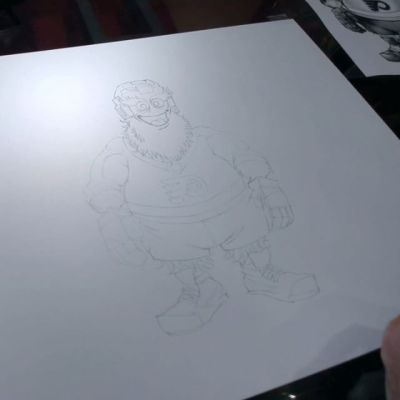 Here is how I designed Gritty, the new Flyers Mascot. The attention this has been getting is humbling, exciting, and sometimes terrifying! I'd like to thank Character Translations Inc. for their hard work bringing my drawing to life, the great Art Directors at the Flyers who made this such an enjoyable process, the man inside the Gritty suit, and of course the fans who have shared their opinions with me (good and bad). I'm humbled to have been a part of this process, and I sincerely believe that Gritty's going to earn your respect.#philadelphiaflyers @grittynhl #nhl #hockey #mascot #characterdesign #characterdesigner #conceptartist #mascotdesign #characterart
