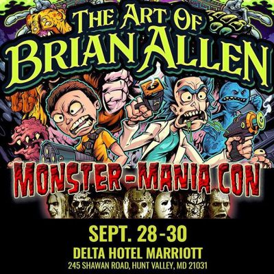 Please come out and see me this weekend if you're in the Maryland area - I'm peddling stuff at the awesome Monster-Mania. My first time doing the show, and it's insane. So much talent here!Huge horror icons like Robert Englund (Freddy) and Kane Hodder (Jason) will be there! MONSTER-MANIA 41 – SEPT. 28 -30 HUNT VALLEY, MARYLAND!DELTA HOTEL MARRIOTT 245 Shawan Road, Hunt Valley, MD 21031#monster-mania #monstermaniacon #horrorcon