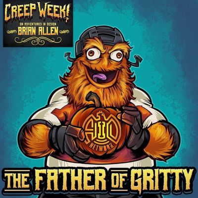 I'm on Adventures In Design podcast discussing the creation of Gritty!!! I'm truly humbled to be one of the guests on this show. My art heroes have all been a part of this show, and I've learned so much from it. Pretty surreal to be on the other side. Please give it a listen, and subscribe to Mark's show - it's the most informative and enjoyable design podcast period.https://bit.ly/2D5pFU4....#philadelphiaflyers @grittynhl #nhl #hockey #aid #adventuresindesign #podcast #characterdesign #mascotdesign #circleoftrust