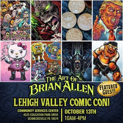 Please come out and see me at Lehigh Valley Comic Con tomorrow, Saturday, October 13th! They've invited me to be a featured guest which is quite humbling, and I'll even be talking at my first panel *GULP* - pretty terrified about that! I've got art prints, stickers, and coasters  to peddle! Come say hi!http://www.lehighvalleycomicconvention.com/#lehighvalleycomiccon #art #originalartwork #mangastudio #clipstudiopaint #illustration #hireanillustrator #freelanceartist #wacomcintiq