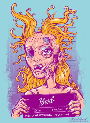 Meth Head Barbie T-Shirt