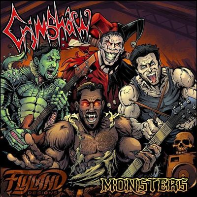 This was a really fun album cover illustration I created for the band called @Crimshaw - we drew them as monsters that matched their personalities and matched their stage personas. Really enjoyed working with these guys.#albumcover #albumart #merchdesign #musicart #albumdesign #heavymetal #rockmusic#art #originalartwork #mangastudio #clipstudiopaint #illustration #hireanillustrator #freelanceartist #wacomcintiq