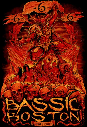 Bassic Boston T-Shirt Design