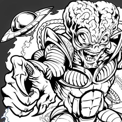 Here's an Alien I drew today. Haven't been able to post much artwork lately - been dealing with a pretty serious personal crisis. I want to thank my clients for their patience, and my friends and family for helping us through it. Going to be back on our feet real soon! Thanks for your support!#wip #Inkdrawing #clipstudiopaint #blacksndwhite #alienart #scifiart