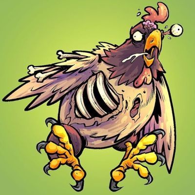 Zombie Chicken! ... I've drawn weirder things, and so have you!