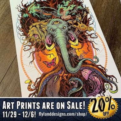 This whole week we are having a sale on all my artprints! Check them out at https://www.flylanddesigns.com/shop/#artprints #sale #artwork #elephant #flylanddesigns #animals #posters