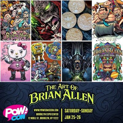 I'll be at Pow!Con at the Brooklyn Expo Center in Brooklyn NY this Saturday and Sunday, Jan 25-26. Tons of cool celebrity guests, vendors, artists, events, and more fun pop culture stuff. This is my first time at the show - hope it's a good one! I'll be bringing along my son to help out - he's excited to spend a weekend in NYC for the first time. Come check it out!#comiccon #popculture #powcon #brooklynny