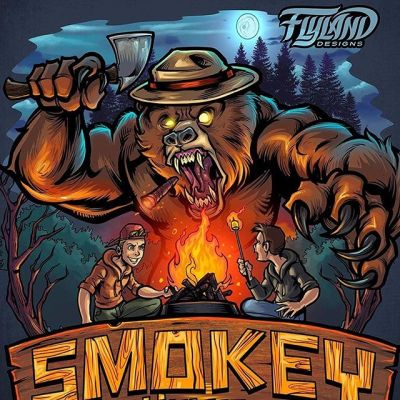 Lunatic Smokey the Bear I illustrated for a client. Damn kids will never learn!#art #humor #funnyart #cartoonparody #smokeythebear #mangastudio #clipstudiopaint #illustration #hireanillustrator #freelanceartist #wacomcintiq
