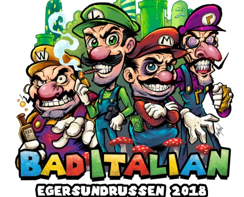 The infamous Mario brothers from