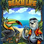 Toucan and Sloth cartoon charact