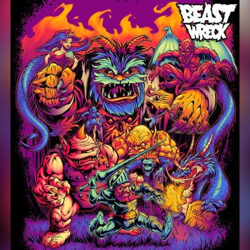 BeastPop Testimonial Artwork