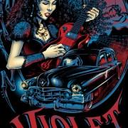 female guitarist black widow dar