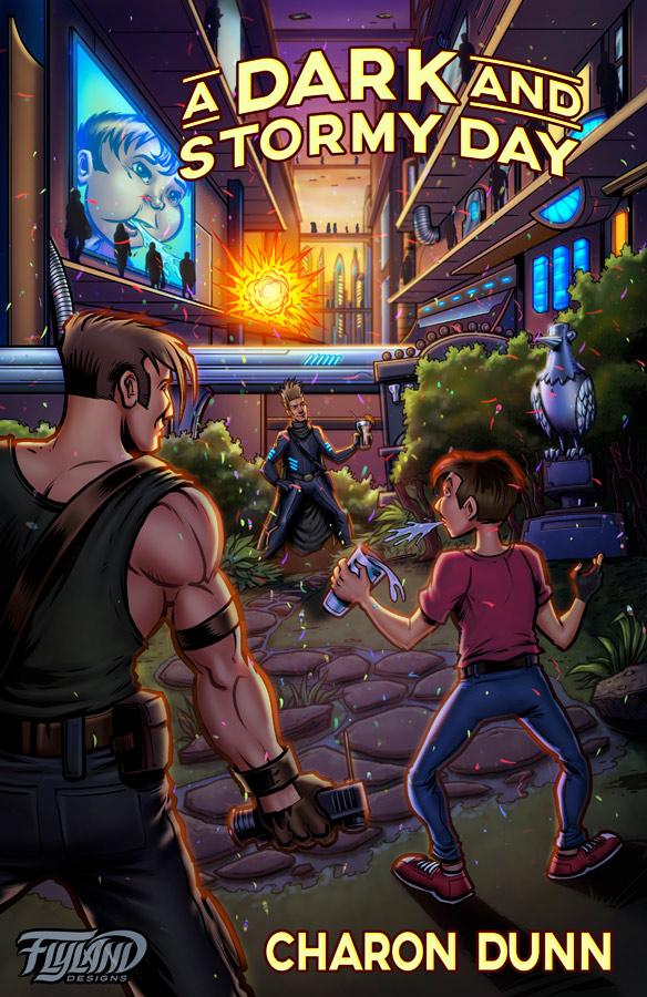 Steampunk fantasy sci-fi charact