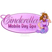 Mascot logo design of a sassy young girl at a children's day spa