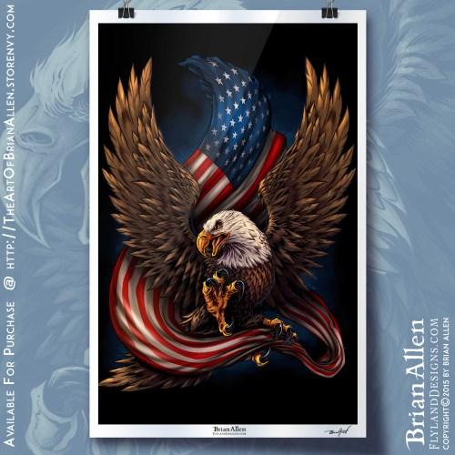 eagle-and-flag